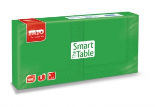 Ubrousky The Smart Table, 25x25cm, 2vr., Zelené - 3800 ks